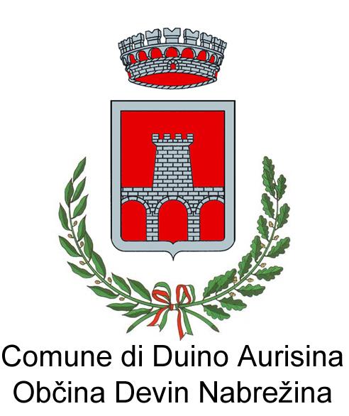 Logo Duino Aurisina con scritta